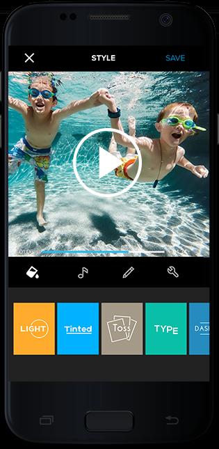GoPro; chytrý telefon