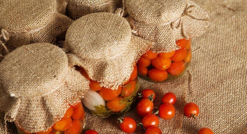 rajčata zavařování