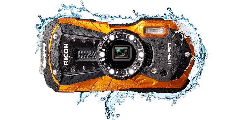 Voděodolný fotoaparát Ricoh WG-50
