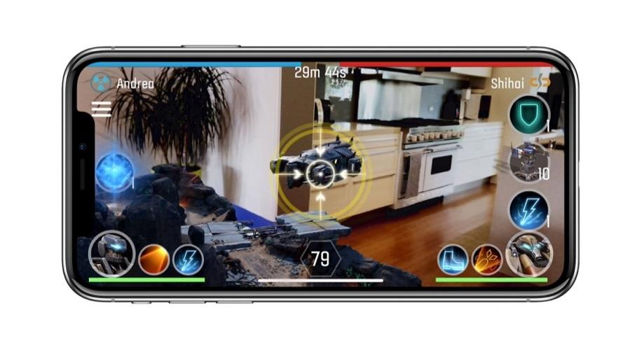 Rozšířená realita; iPhone X; hry