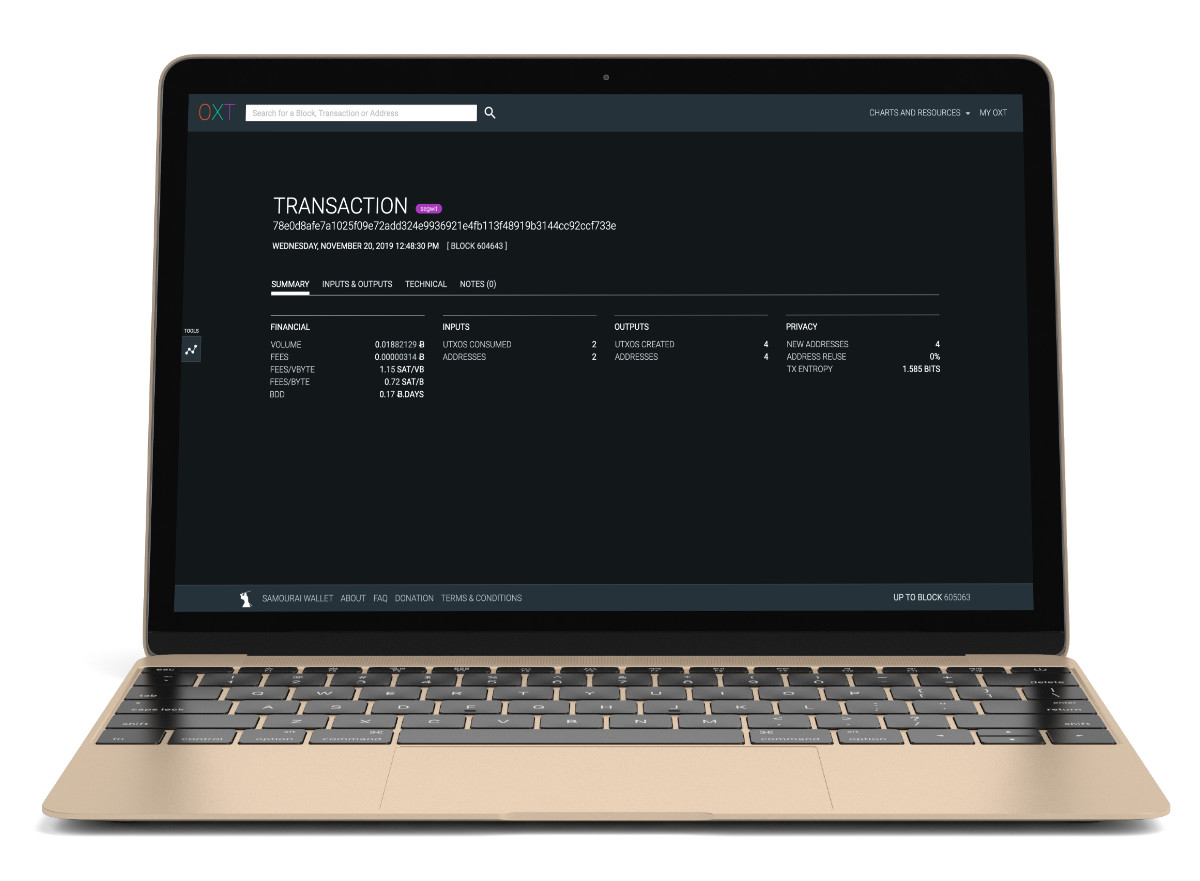 samourai;wallet;bitcoin;penezenka