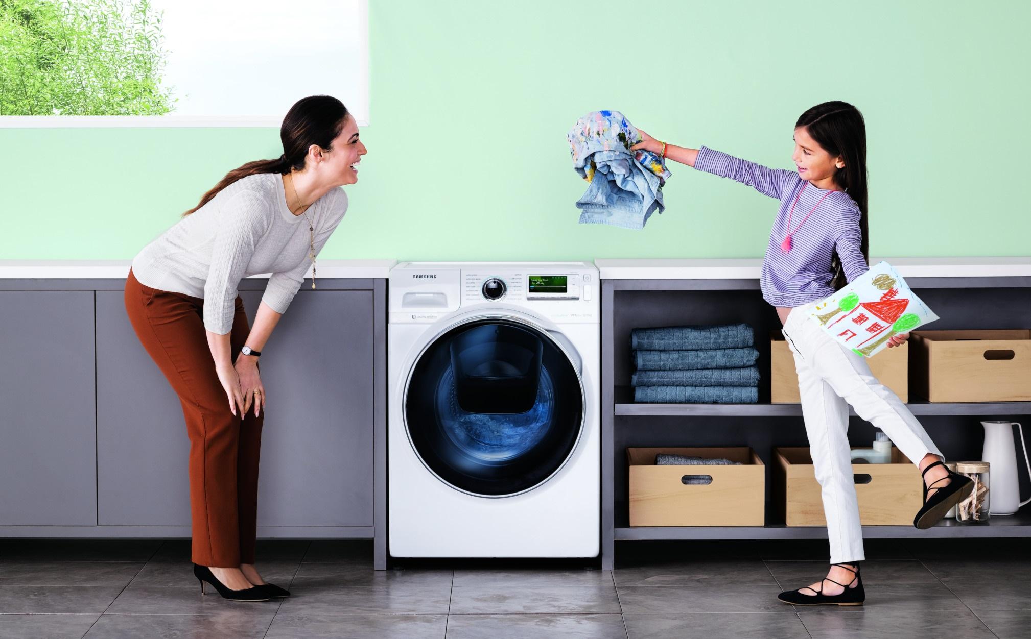 Samsung AddWash - pračka s předním plněním