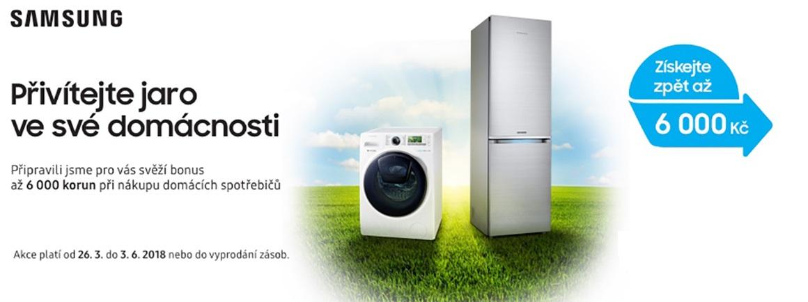 Samsung vrací peníze za nákup vybraných chladniček a praček