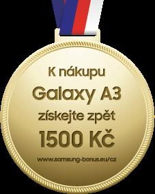 Samsung Galaxy A3; Cashback