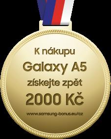 Samsung Galaxy A5; Cashback