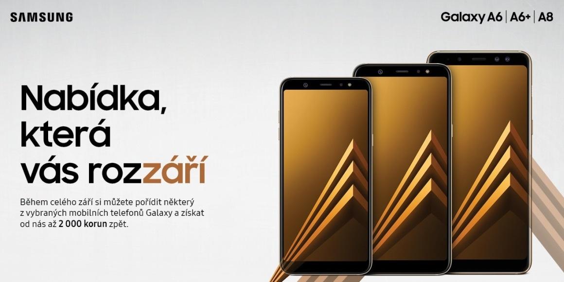 0d1f6f788 S cashbackem na mobily Samsung zpět až 2 000 Kč | Alza.cz