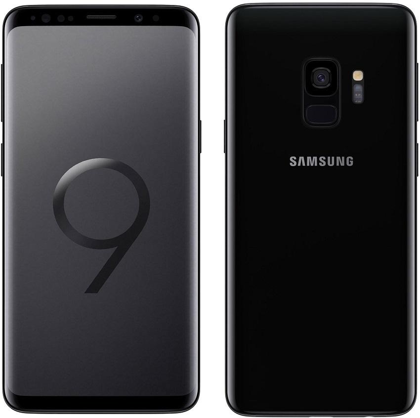 Samsung Galaxy S9; černý