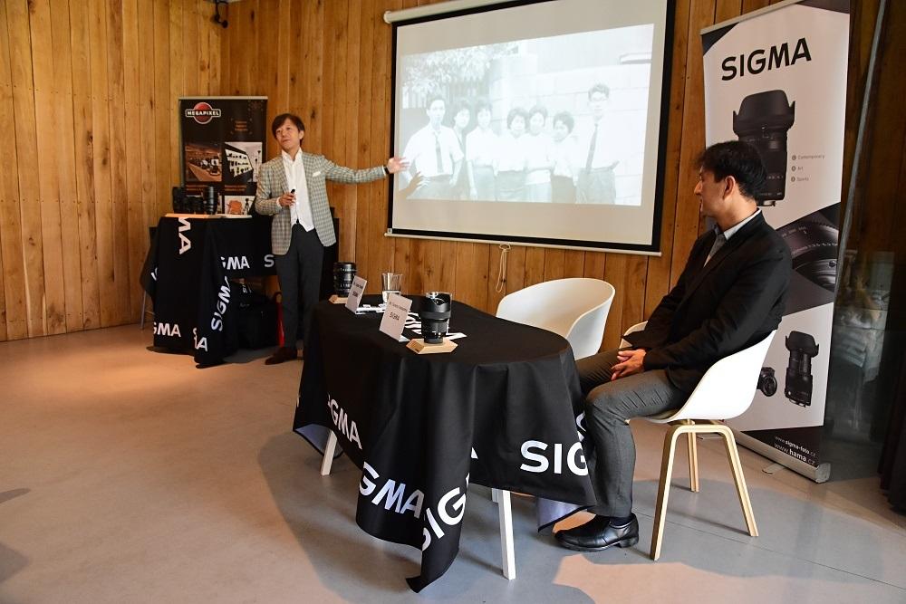 Kazuto Yamaki, majitel a CEO Sigma Corporation na návštěvě v ČR