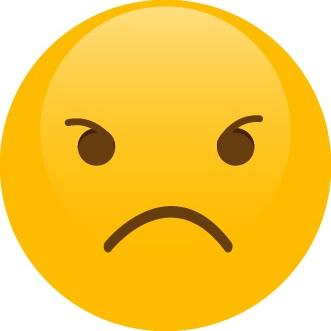 Smajlík – hněv