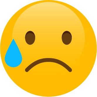 Smajlík – pláč