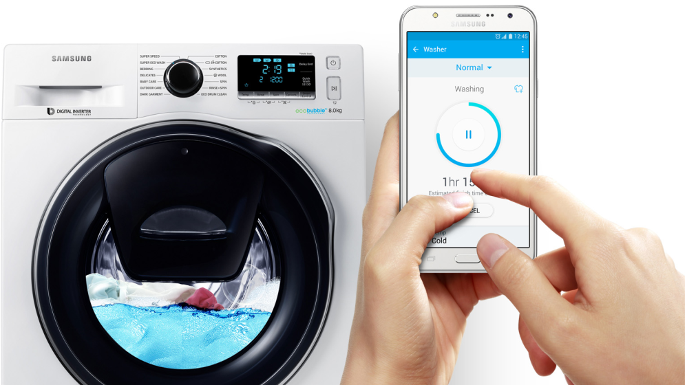 Samsung Smart Washer - bezplatná aplikace