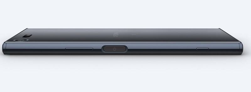 Sony Xperia XZ; pohled z boku