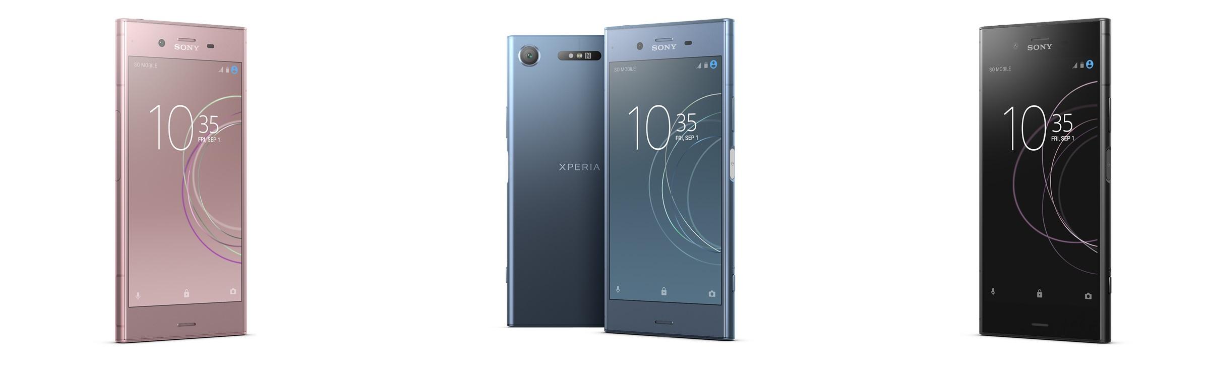 Sony Xperia XZ1; telefon