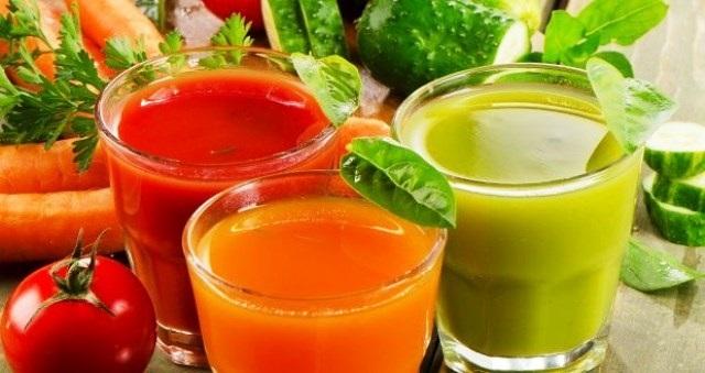 Čerstvé šťávy z ovoce a zeleniny