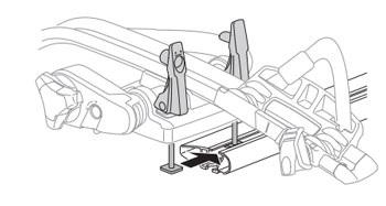 Montáž nosiče pomocí T-adaptéru