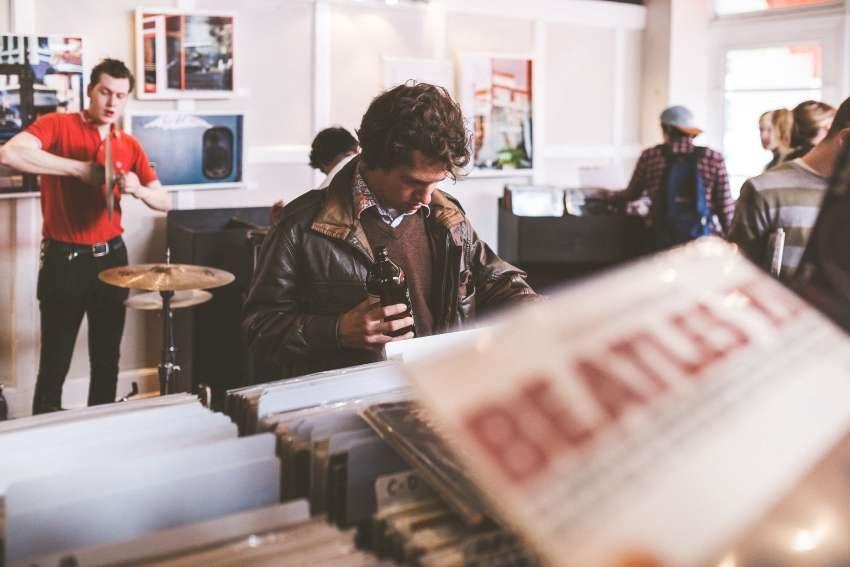 Obchod s vinyly