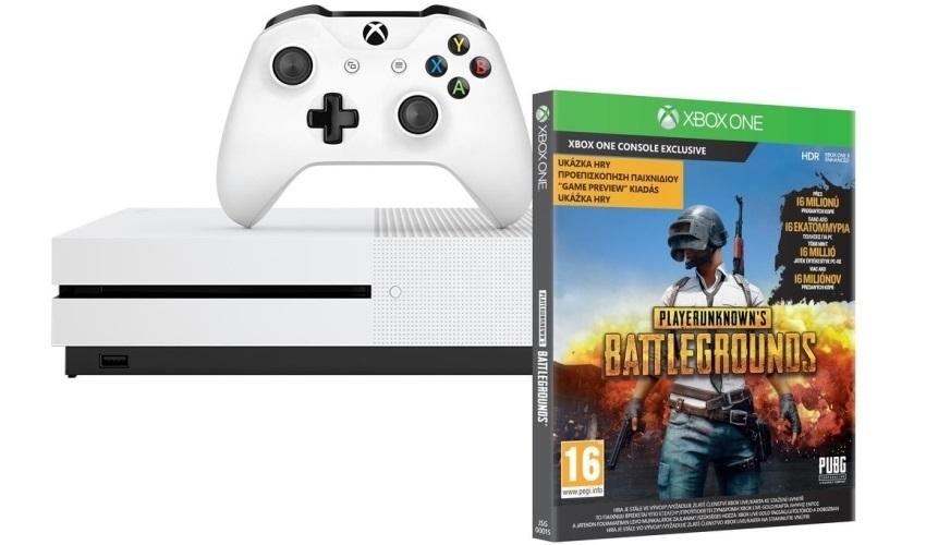 Xbox One S; PUBG; cashback