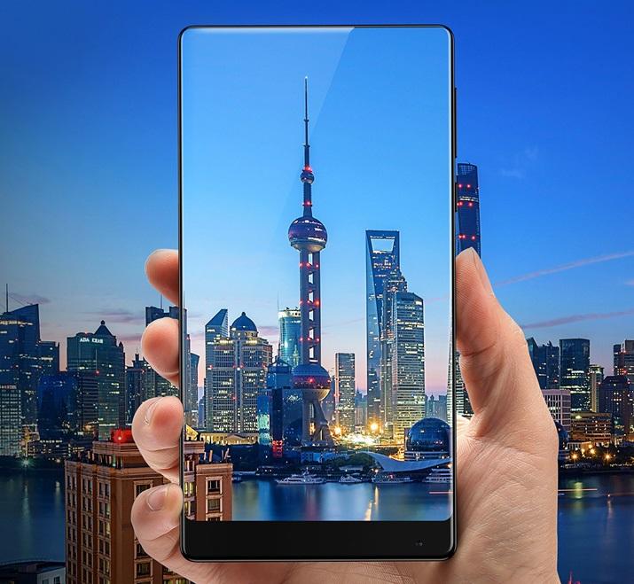 Xiaomi Mi Mix; smartphone bez rámečků