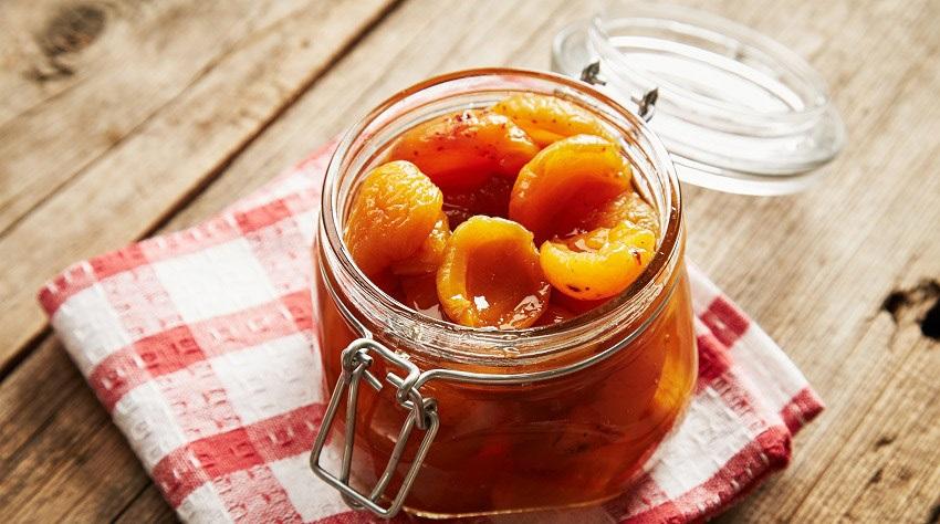 zavařování meruňky