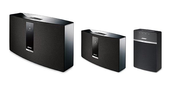 Hudební systémy BOSE SoundTouch - přehrávejte hudbu po celé domácnosti