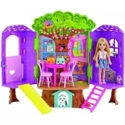 Barbie herní set Domeček na stromě