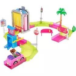 Barbie auto myčka