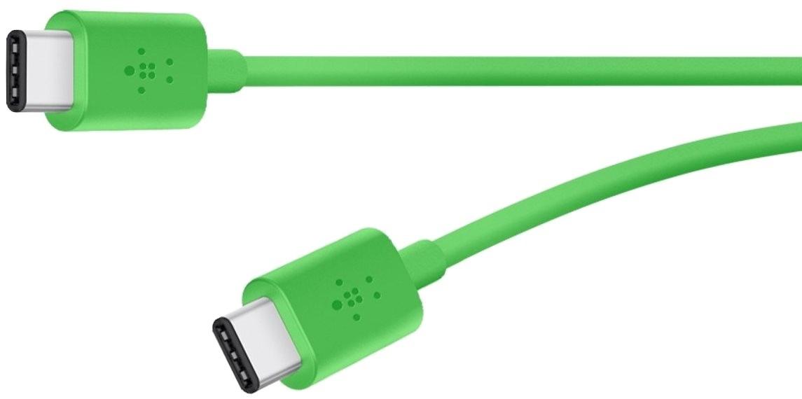 Připojovací kabel Belkin v zeleném provedení