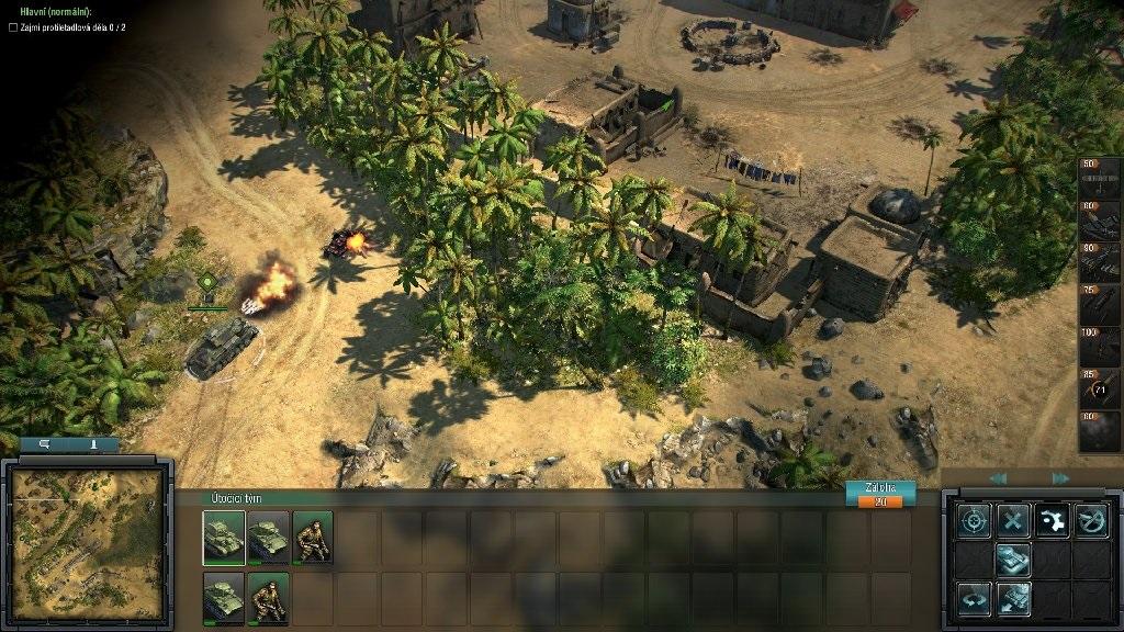 Blitzkrieg 3; Gameplay: bojiště Afrika