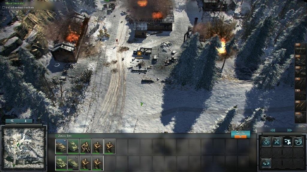 Blitzkrieg 3; Gameplay: bojiště Norsko