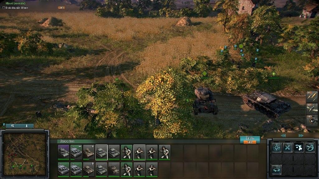 Blitzkrieg 3; Gameplay: tanky