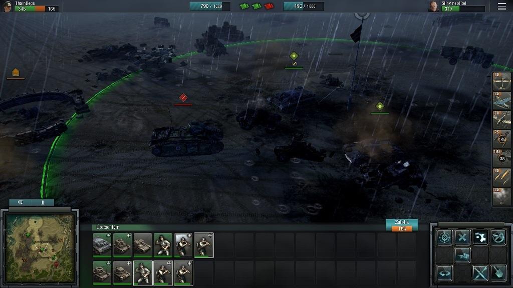 Blitzkrieg 3; Gameplay: těžká technika