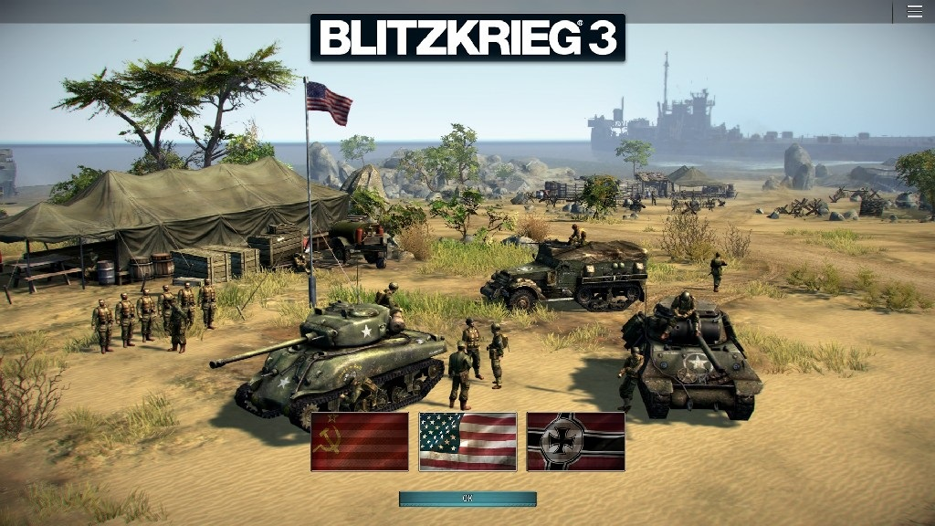 Blitzkrieg 3; Gameplay: výběr frakce
