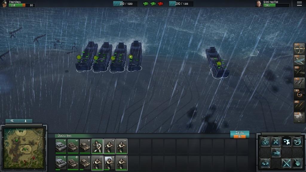 Blitzkrieg 3; Gameplay: vylodění