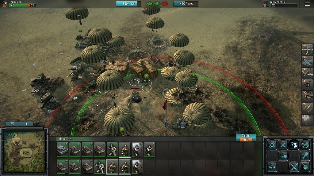 Blitzkrieg 3; Gameplay: výsadek