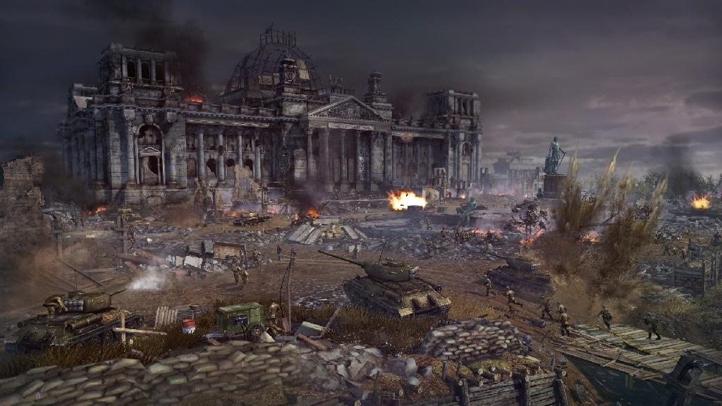 Blitzkrieg 3; Wallpaper: bitva, tanky, jednotky