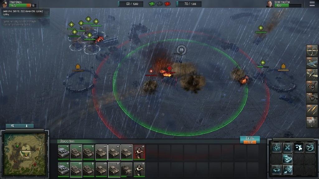 Blitzkrieg 3; Gameplay: zásah artilerie