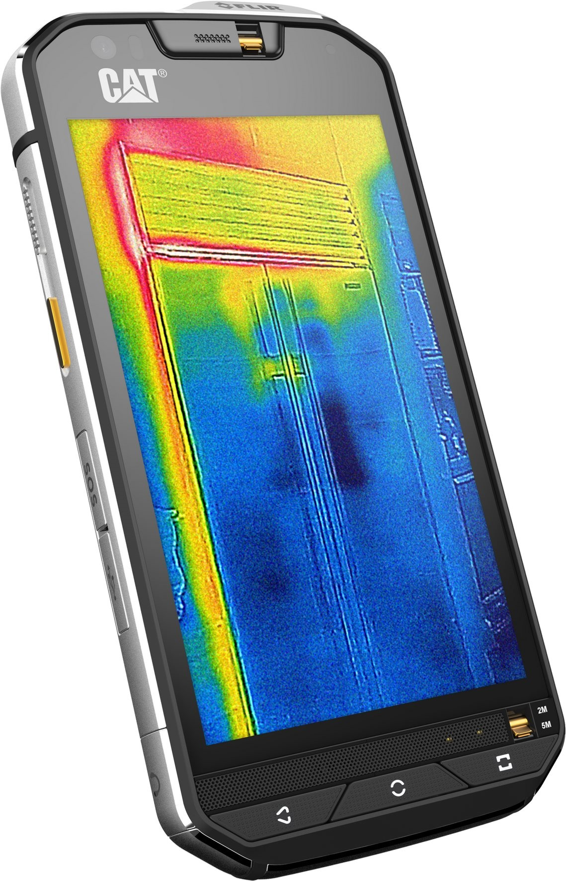Cat S60 je revoluční telefon s termovizní kamerou  f5afa9fa29