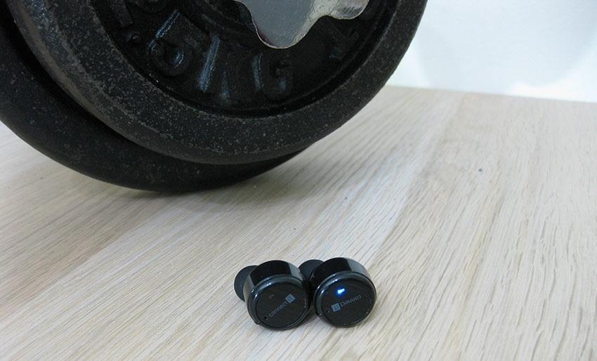 Connect IT True Wireless; sluchátka; ergonomie