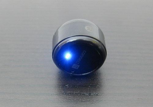 Connect IT True Wireless, modrá LED