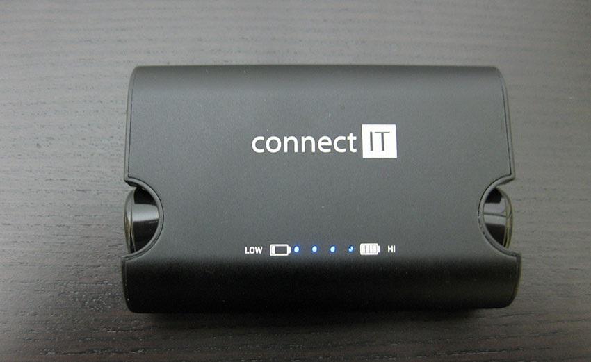 Powerbanka Connect IT True Wireless hyper-bass