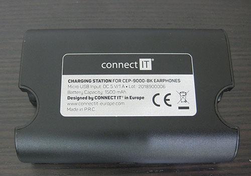 Connect IT True Wireless, zadní strana