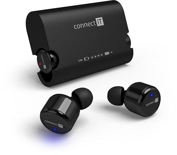 Connect IT True Wireless (hyper-bass) recenze