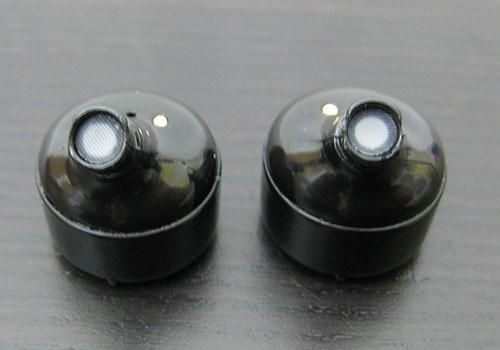 Connect IT True Wireless (hyper-bass), pohled do zvukovodu