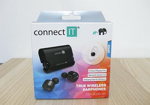 Connect IT True Wireless, přední strana, balení