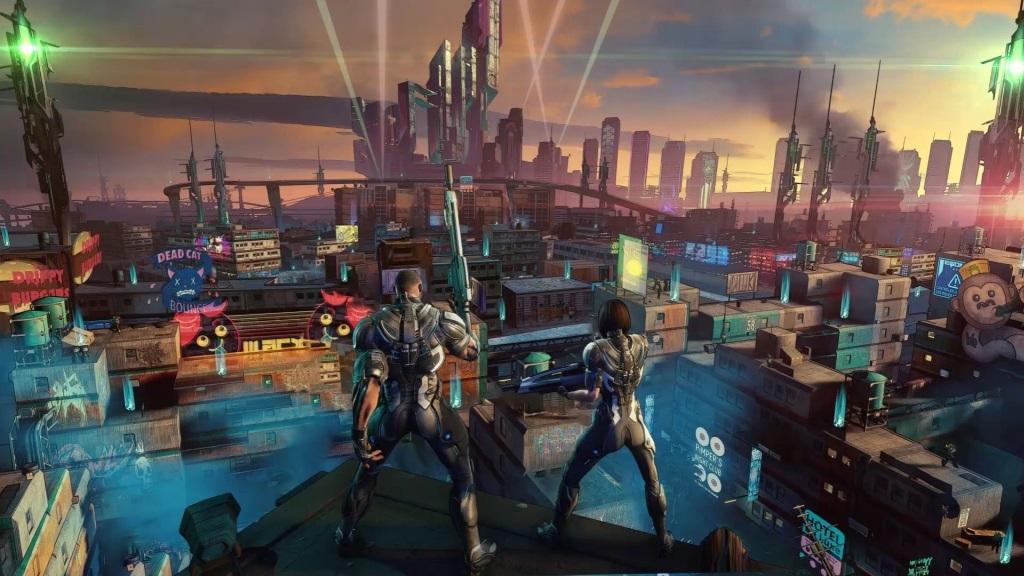 Xbox Two project Scarlett; screenshot: Crackdown 3, tps akce