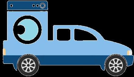 logo Doručení domácích spotřebičů a objemného zboží