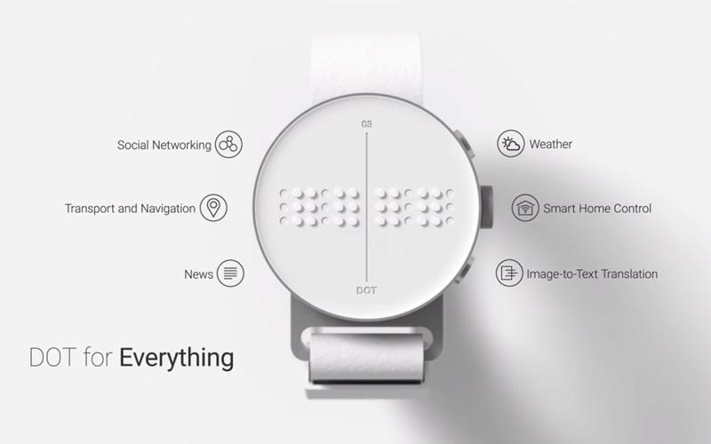 Dot SmartWatch; funkce Dot SmartWatch