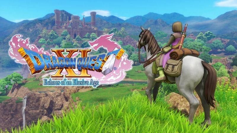 Dragon Quest XI; wallpaper: cover