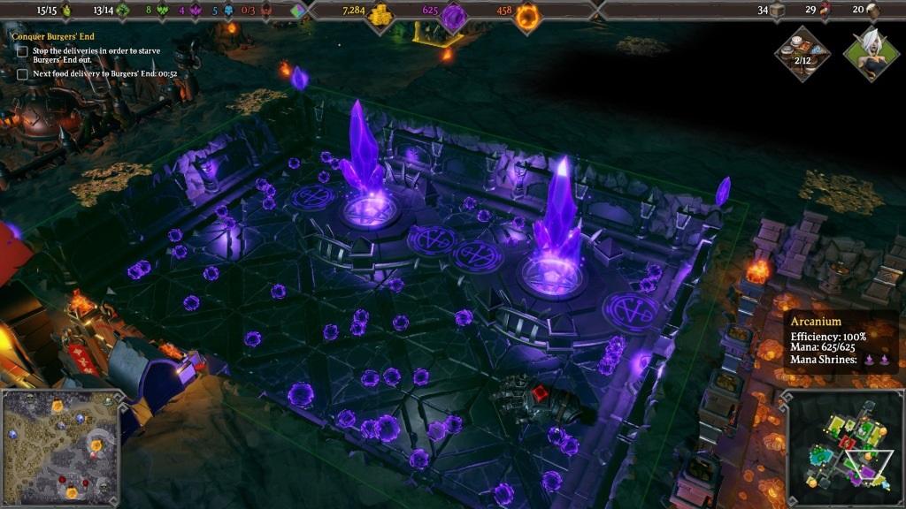 Dungeons 3; Gameplay: generátor energie