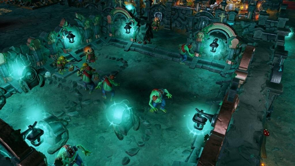 Dungeons 3; Wallpaper: hřbitov, zombíci